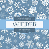 Winter Digital Paper DP4918 - Digital Paper Shop - 4