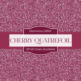 Cherry Quatrefoil Digital Paper DP160 - Digital Paper Shop - 4