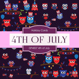 4th of July Independence Day Digital Paper DP4007 - Digital Paper Shop - 4