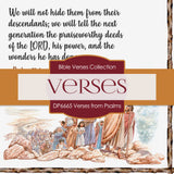 Verses From Psalms Digital Paper DP6665