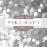 Pink & Silver Party Digital Paper DP1065 - Digital Paper Shop - 4