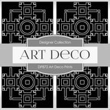 Art Deco Prints Digital Paper DP872 - Digital Paper Shop - 4