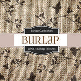 Burlap Textures Digital Paper DP061 - Digital Paper Shop - 4