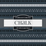 Chalk Tribal Digital Paper DP1593 - Digital Paper Shop - 2