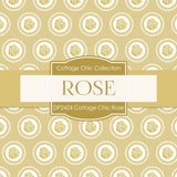 Cottage Chic Rose Digital Paper DP2424 - Digital Paper Shop - 3