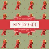 Ninja Go Digital Paper DP1981 - Digital Paper Shop - 3