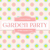 Garden Party Digital Paper DP286 - Digital Paper Shop - 4