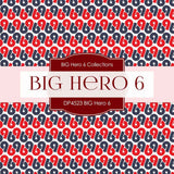 BIG Hero 6 Digital Paper DP4523 - Digital Paper Shop - 3