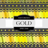Gold Digital Paper DP831 - Digital Paper Shop - 2