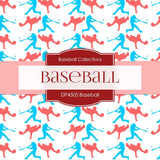 Baseball Digital Paper DP4505 - Digital Paper Shop - 3