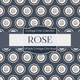 Cottage Chic Rose Digital Paper DP2426 - Digital Paper Shop - 4