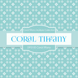 Coral Tiffany Digital Paper DP2150 - Digital Paper Shop - 4