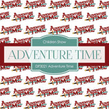 Adventure Time Digital Paper DP3021 - Digital Paper Shop - 5