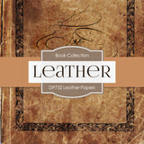 Leather Digital Paper DP732 - Digital Paper Shop - 4