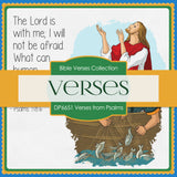 Verses From Psalms Digital Paper DP6651