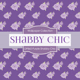 Purple Shabby Chic Digital Paper DP865 - Digital Paper Shop - 4