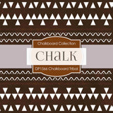 Chalkboard Tribal Digital Paper DP1566 - Digital Paper Shop - 4