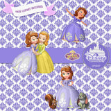 Sofia The First Digital Paper DP3037A - Digital Paper Shop - 5