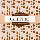 Camping With Dad Digital Paper DP2121 - Digital Paper Shop - 3