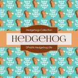 Hedgehog Life Digital Paper DP6696