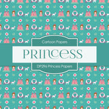 Princess Papers Digital Paper DP296 - Digital Paper Shop - 4