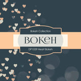 Heart Bokeh Digital Paper DP1059 - Digital Paper Shop - 4