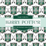 Slytherin Harry Potter Digital Paper DP1780 - Digital Paper Shop - 4