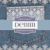 Denim Chantilly Digital Paper DP2460 - Digital Paper Shop - 4