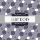Baby Dots Digital Paper DP1276 - Digital Paper Shop - 4