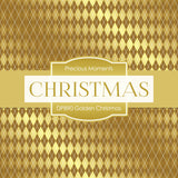 Golden Christmas Digital Paper DP890 - Digital Paper Shop - 4