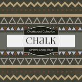 Chalk Tribal Digital Paper DP1593 - Digital Paper Shop - 4