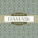 Damask Digital Paper DP423 - Digital Paper Shop - 4