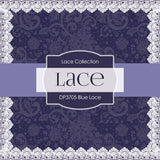 Blue Lace Digital Paper DP3705 - Digital Paper Shop - 4