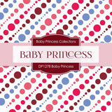 Baby Princess Digital Paper DP1278 - Digital Paper Shop - 4