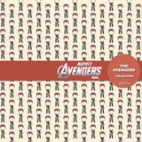 Avengers Digital Paper DP2714 - Digital Paper Shop - 5