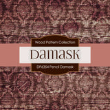 Pencil Damask Digital Paper DP6354