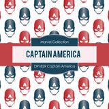 Captain America Digital Paper DP1829 - Digital Paper Shop - 4