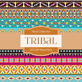Tribal Prints Digital Paper DP2139 - Digital Paper Shop - 4