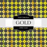 Gold Digital Paper DP831 - Digital Paper Shop - 3