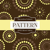 Brown Yellow Digital Paper DP931 - Digital Paper Shop - 4