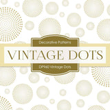 Vintage Dots Digital Paper DP960 - Digital Paper Shop - 4