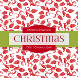 Christmas Owls Digital Paper DP611A - Digital Paper Shop - 4