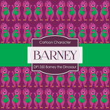 Barney The Dinosaur Digital Paper DP1350 - Digital Paper Shop - 4