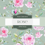 Rose Digital Paper DP947 - Digital Paper Shop - 4