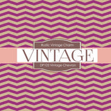Vintage Chevron Digital Paper DP103 - Digital Paper Shop - 3