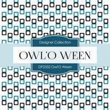 Owl' O Ween Digital Paper DP2332 - Digital Paper Shop - 4