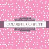 Colorful Confetti Digital Paper DP132 - Digital Paper Shop - 3