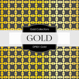 Gold Digital Paper DP831 - Digital Paper Shop - 4