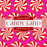 Candy Land Digital Paper DP4056 - Digital Paper Shop - 4