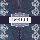 Jeans Lace Digital Paper DP2447 - Digital Paper Shop - 4